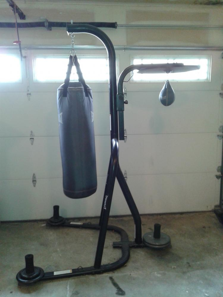 Everlast Dual Station Heavy Bag Stand Review Mma Life