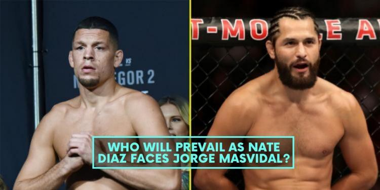 Who Will Prevail as Nate Diaz Faces Jorge Masvidal?