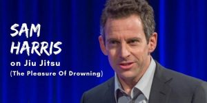 Sam Harris on Jiu Jitsu (The Pleasure Of Drowning)