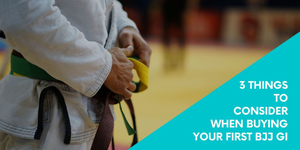 3 Things to Consider When Buying Your First BJJ Gi
