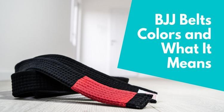 BJJ Belts Colors and What It Means