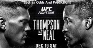 UFC Vegas 17: Stephen Thompson vs. Geoff Neal Predictions and Betting Odds